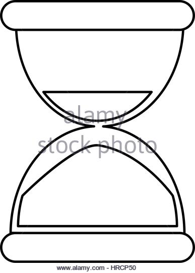 387x540 Sand Timer Illustration Black And White Stock Photos Amp Images