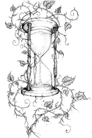 308x461 Vintage Timer And Vines Tattoo Inspiration Likey Like
