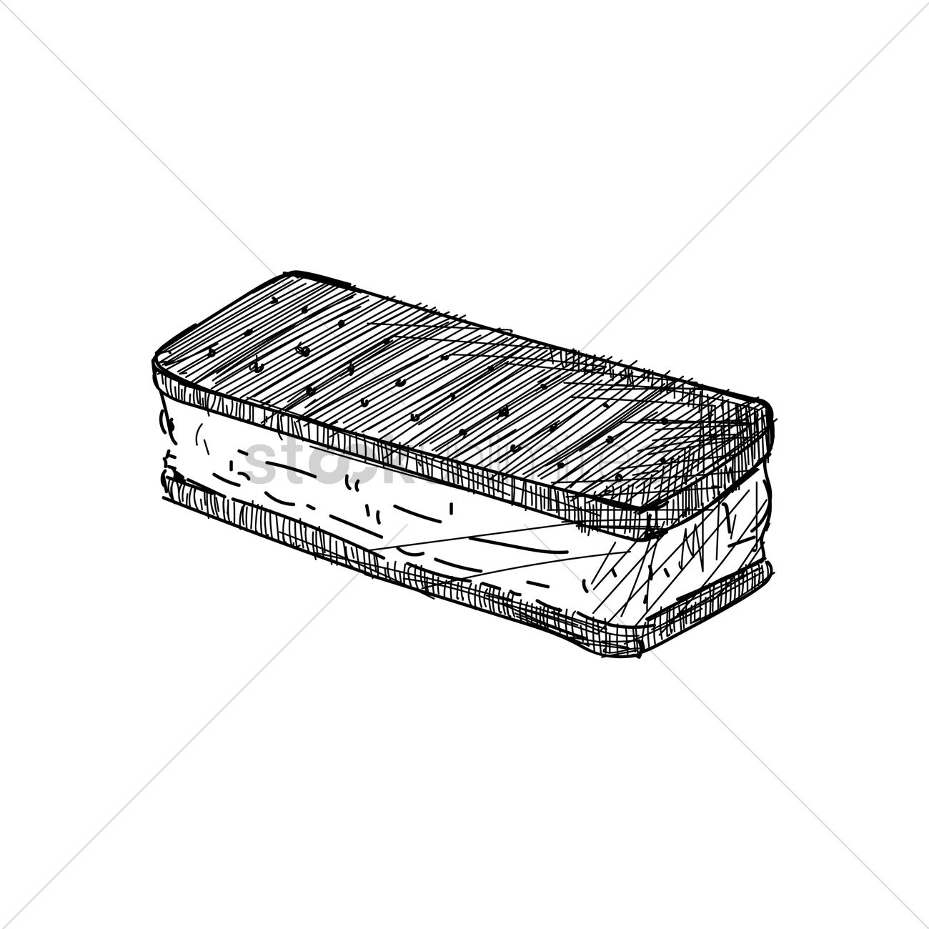 1300x1300 Ice Cream Sandwich Vector Image
