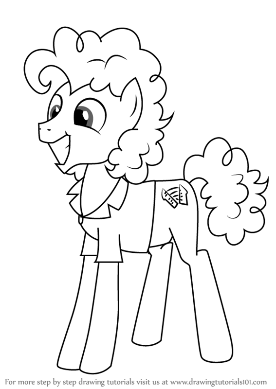 567x800 Learn How To Draw Cheese Sandwich From My Little Pony