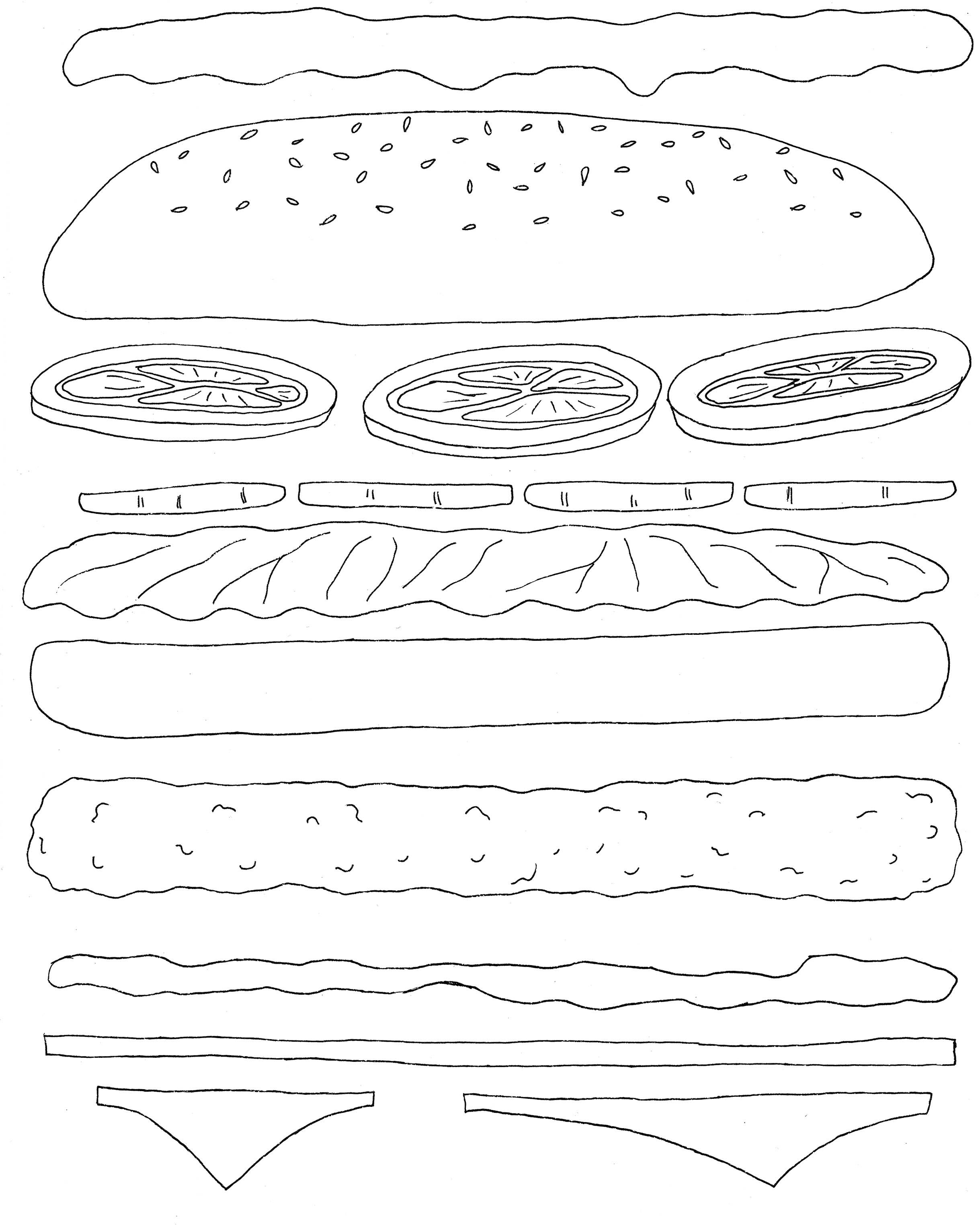 2438x3047 Make Me A Sandwich New Typography Work Jennifer Hines Designs
