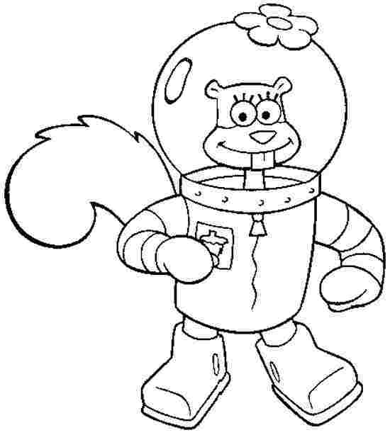 Sandy Cheeks Drawing at GetDrawings.com | Free for personal use ...