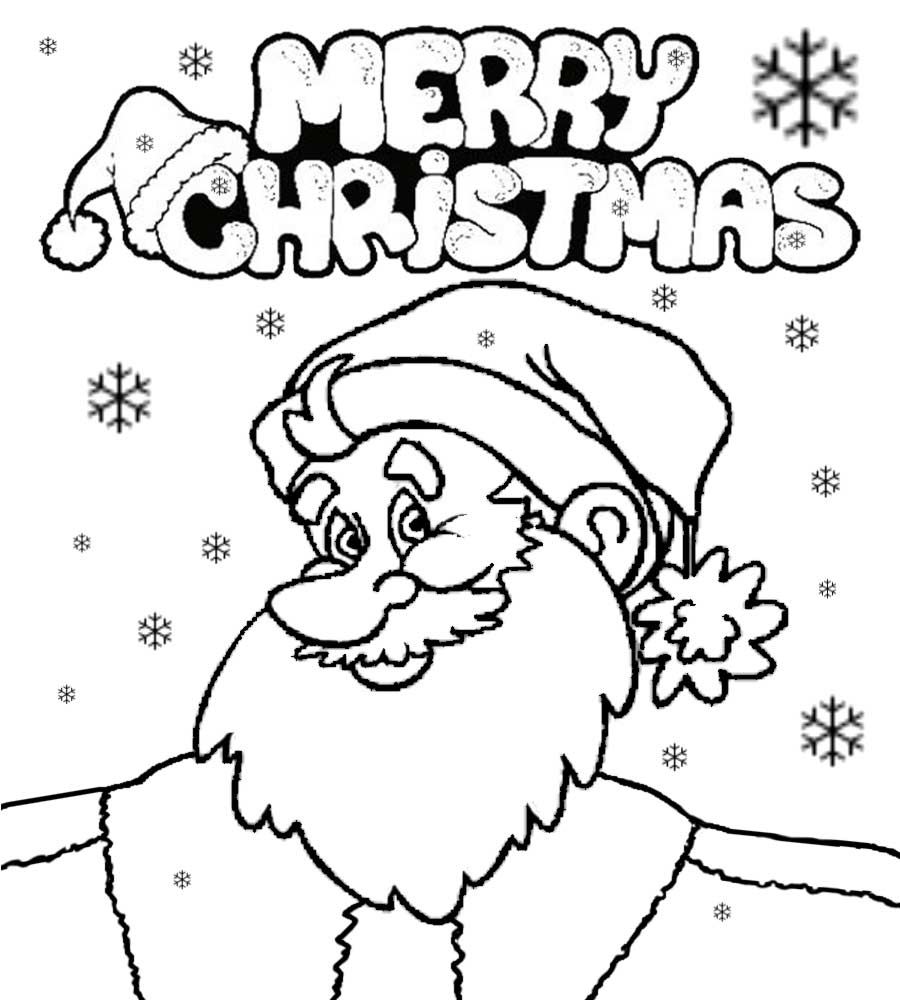 Santa Claus Cartoon Drawing at GetDrawings Free for