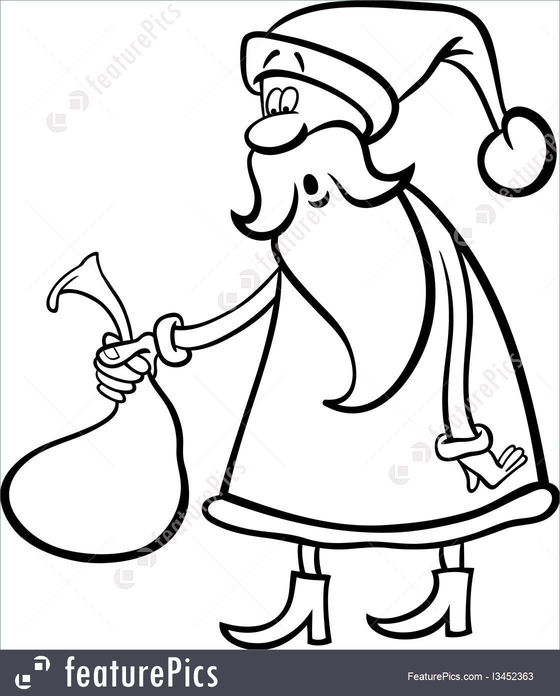 1120x1392 Holidays Santa Claus Cartoon For Coloring