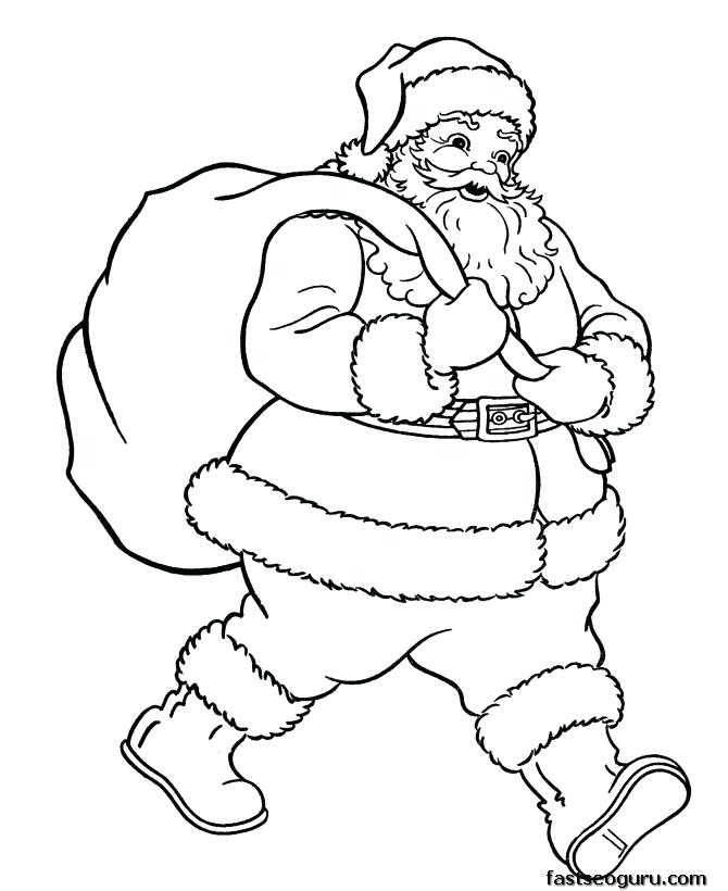 670x820 Free Santa Claus Coloring Pages Trend Coloring Page About Remodel
