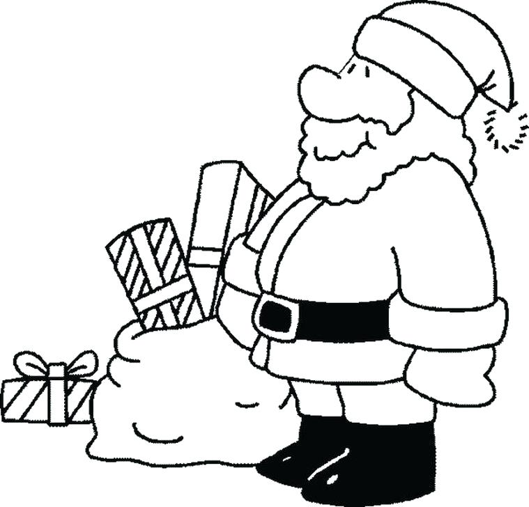 759x728 Free Santa Claus Coloring Pages Free Printable Coloring Pages