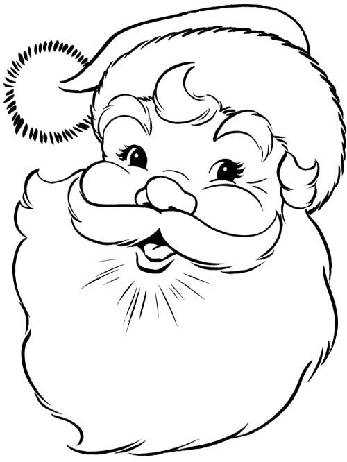 500x666 Paint Santa Claus In Your Minds Eye. Beautiful Isn'T It. Nice