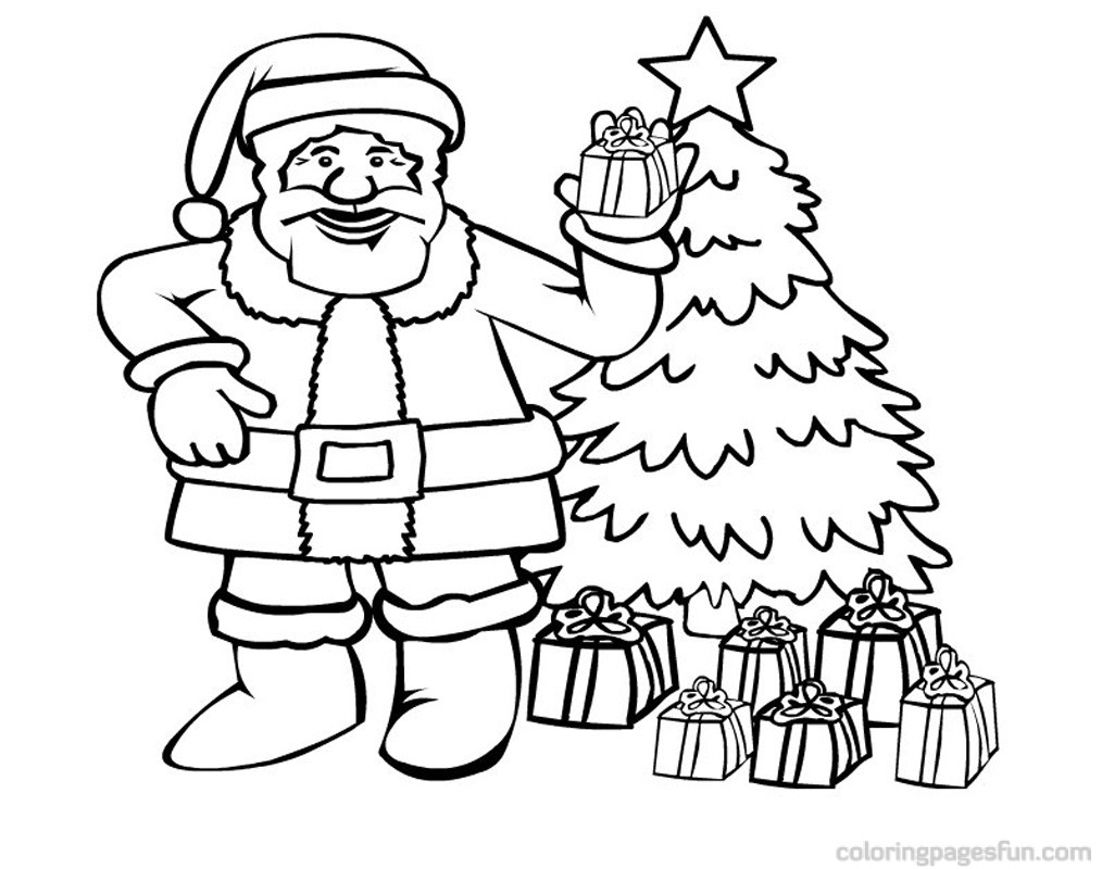 1014x800 santa claus coloring free pages general book of and sleigh high