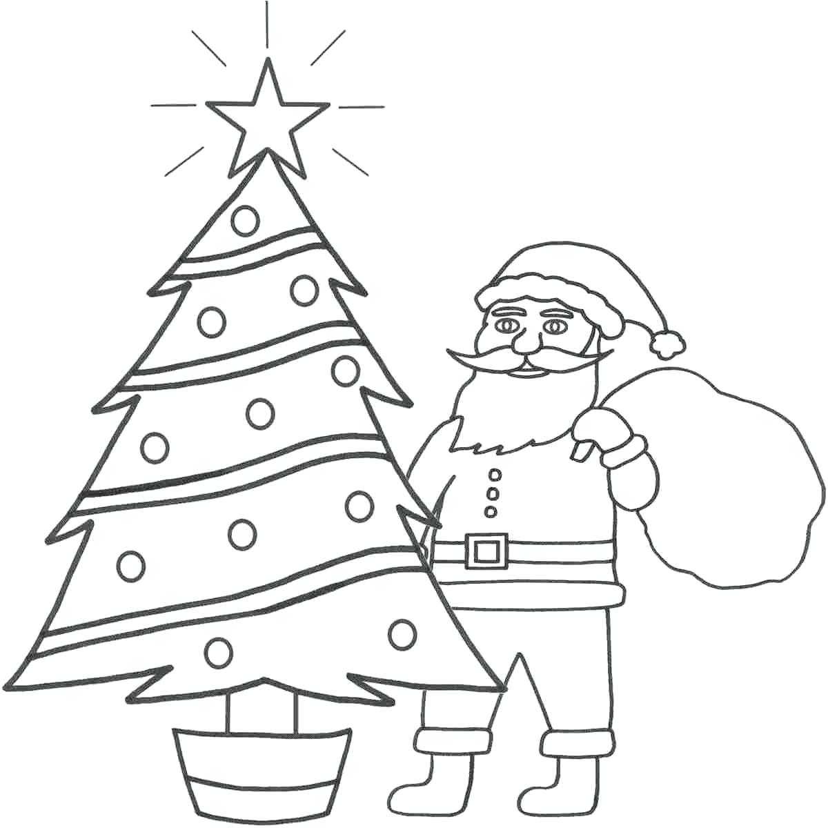 1200x1200 Coloring Coloring Pictures Santa Claus