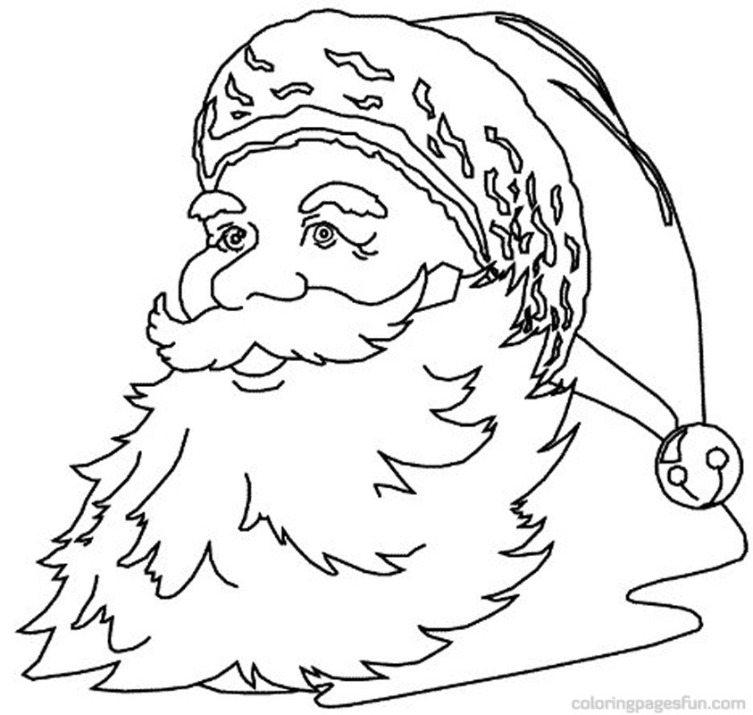 Santa Claus Drawing For Kids at GetDrawingscom Free for personal