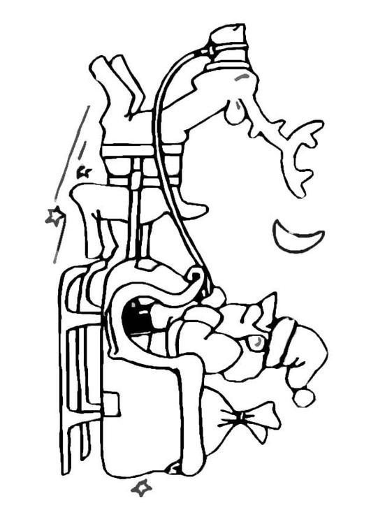 531x750 Coloring Page Santa Claus