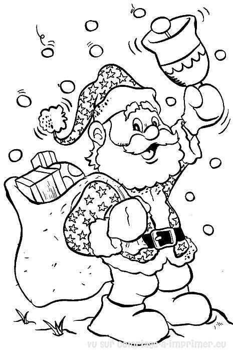 465x699 Santa Claus