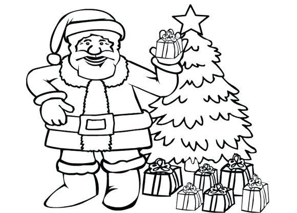 580x415 Santa Claus Outline Drawing Santa Claus Hat Template Printable