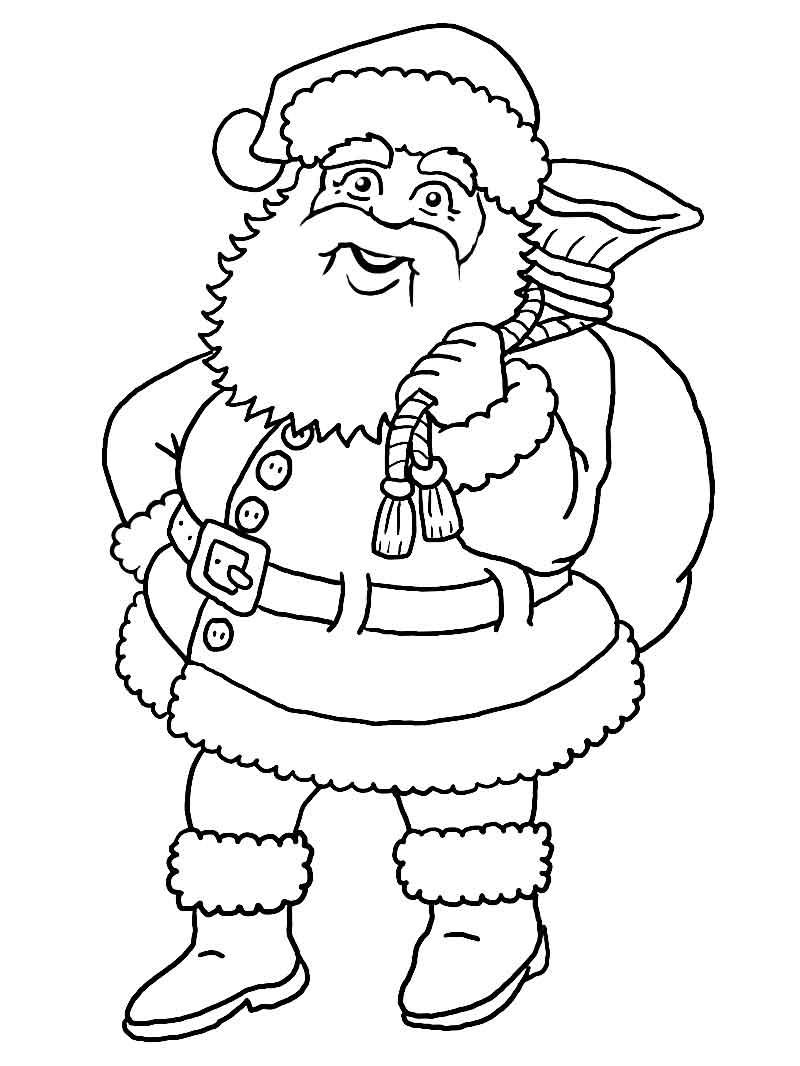 800x1066 Color Model Santa Claus