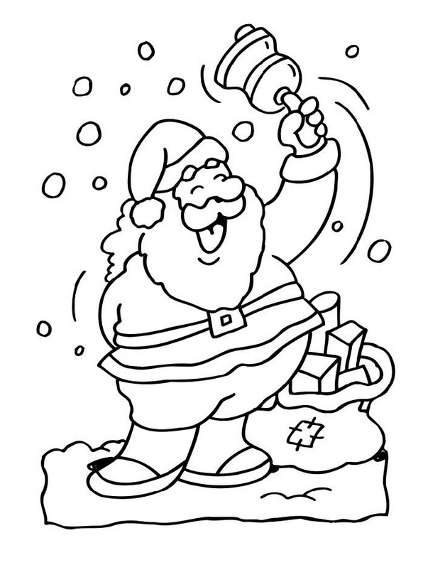 596x795 Santa Claus Coloring Pages Elf And Reindeer