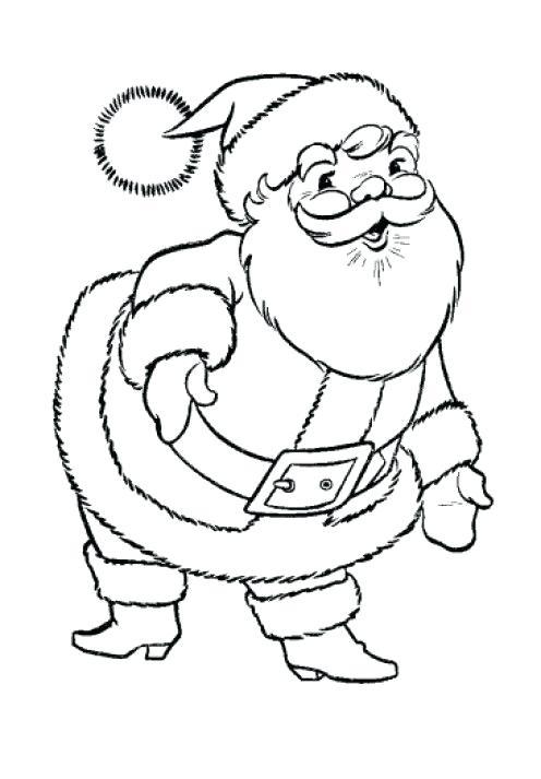 496x713 Santa Color Sheets Coloring Book Coloring Pages Santa Claus Face