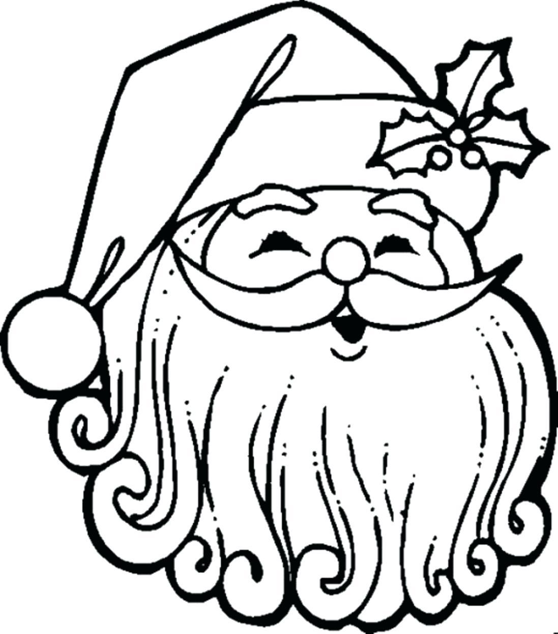 1097x1245 Coloring Coloring Pages Santa Claus