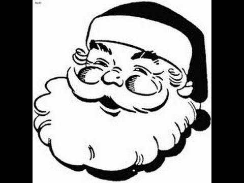 480x360 How To Draw Santa Claus Face