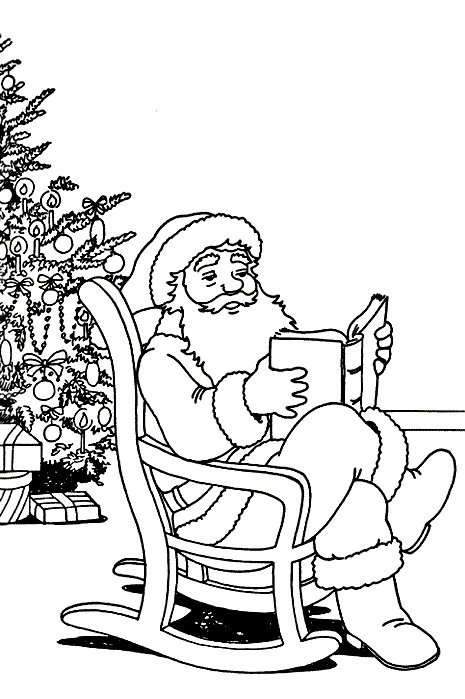 465x699 Kids N 85 Coloring Pages Of Christmas Santa Claus