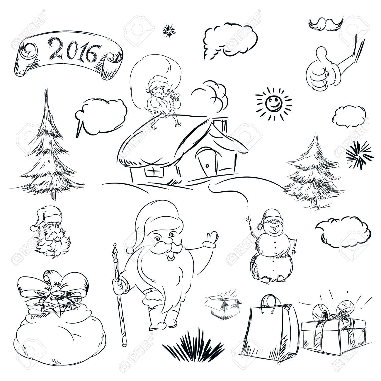 1300x1300 Pencil Sketch Photo Of Santa Claus Santa Claus Drawing Drawing