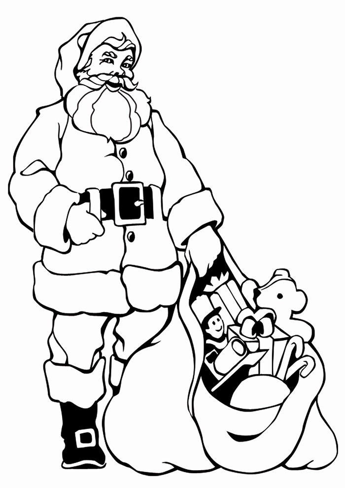 700x990 Best Santa Templates Shapes, Crafts Amp Colouring Pages Free