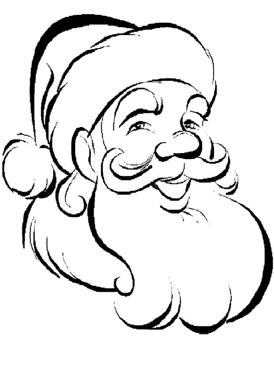 553x757 line drawing santa claus template merry christmas amp happy new