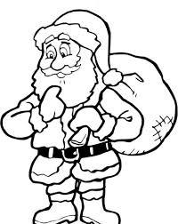 200x252 Color The Santa Claus