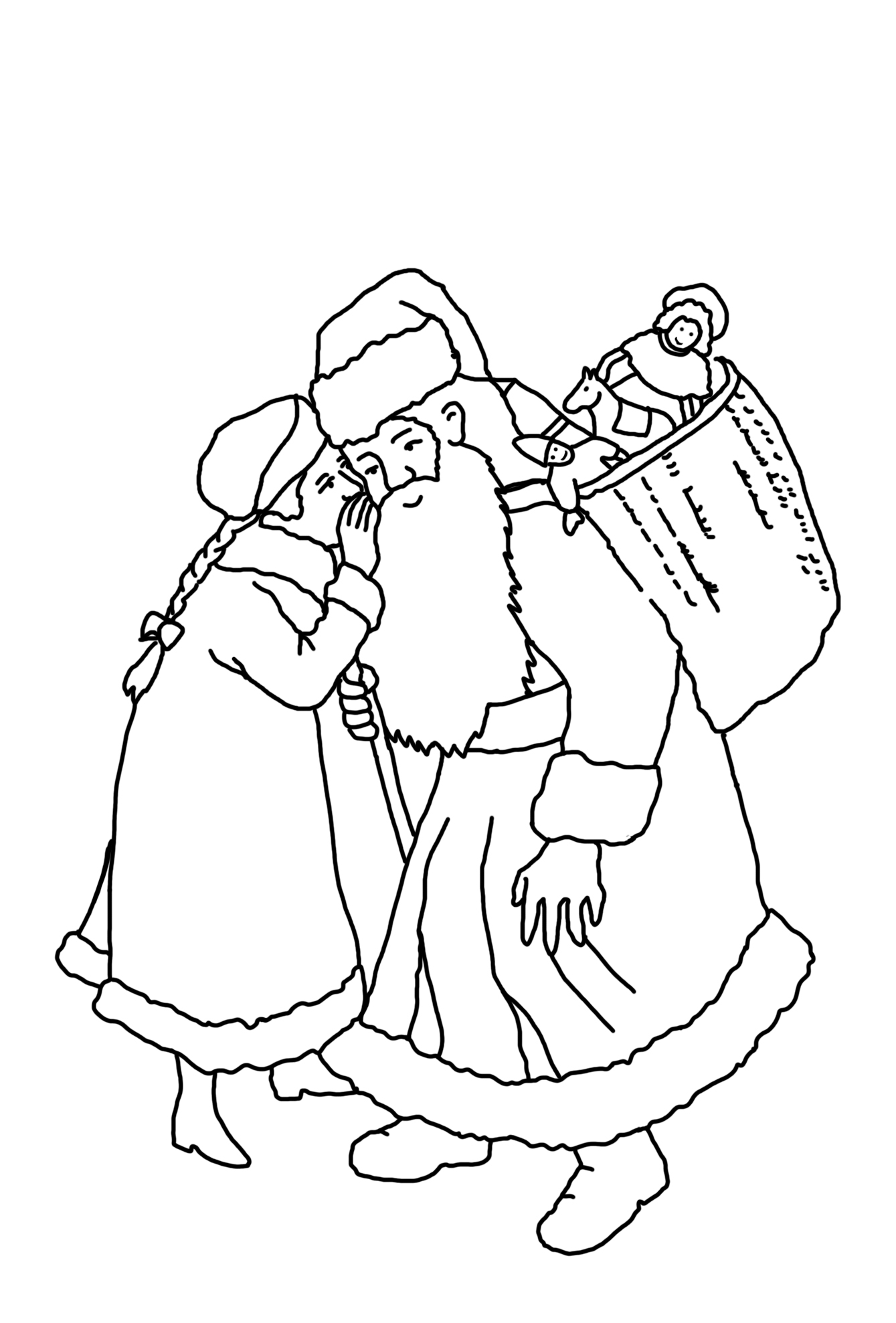 1339x1977 Christmas Coloring Pages