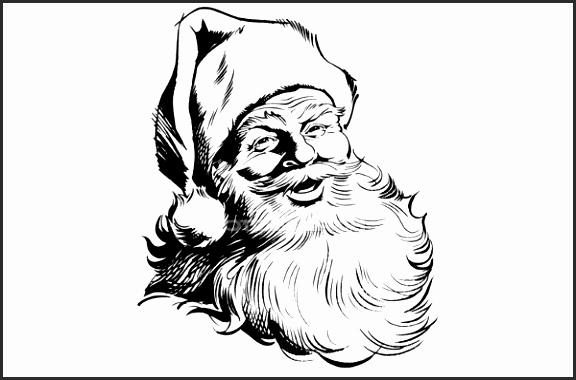Santa Clause Drawing