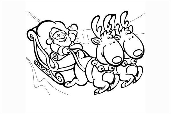 Santa Drawing