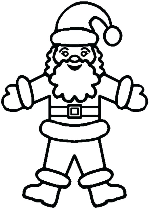 600x849 Santa Clause Coloring Pages How To Draw Coloring Pages Santa Claus