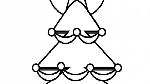 570x320 Easy Christmas Drawing Santa S Reindeer Coloring Reindeer