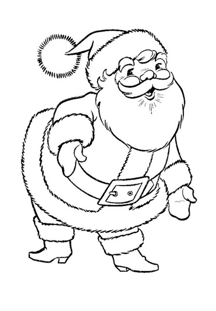 712x1024 printable santa claus coloring pages printable santa claus