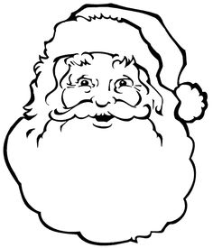 236x275 Simple Santa Claus Paper Craft For Toddlers Santa Face, Face