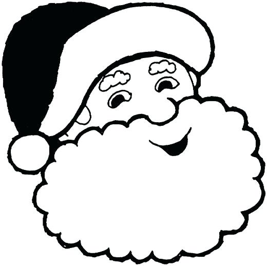 520x518 Coloring Page Santa Coloring Pages Sleigh Sheets Christmas