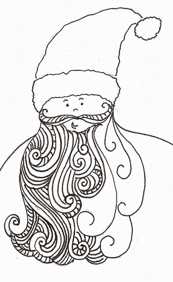 580x946 Artyful Santa's In Town