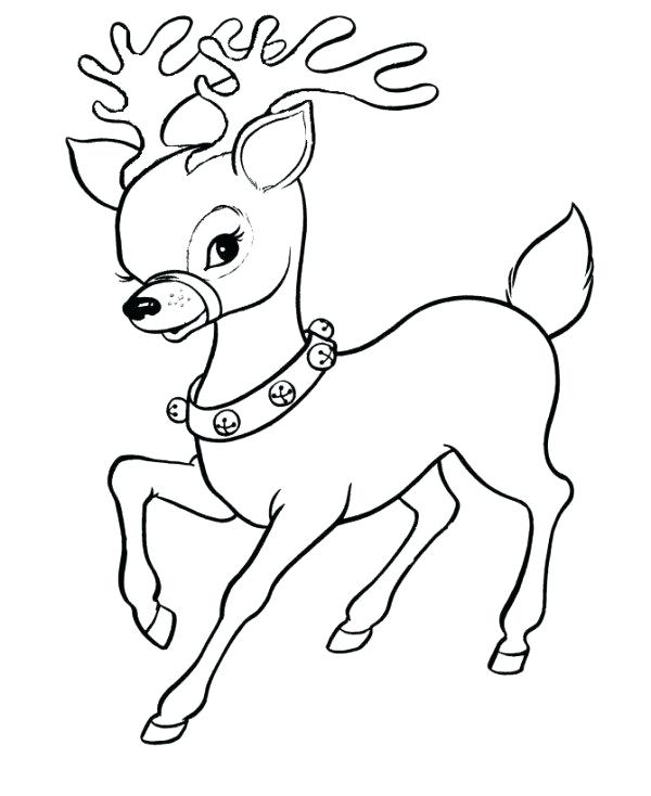 600x734 Christmas Coloring Pages Santa Coloring Pages Drawn Coloring Page