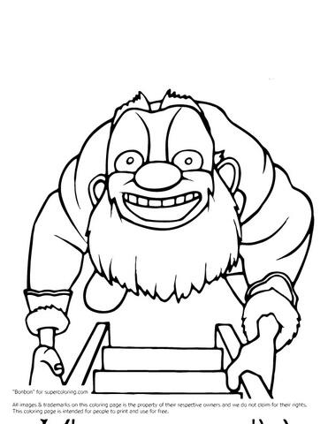 Santa Sketch Drawing
