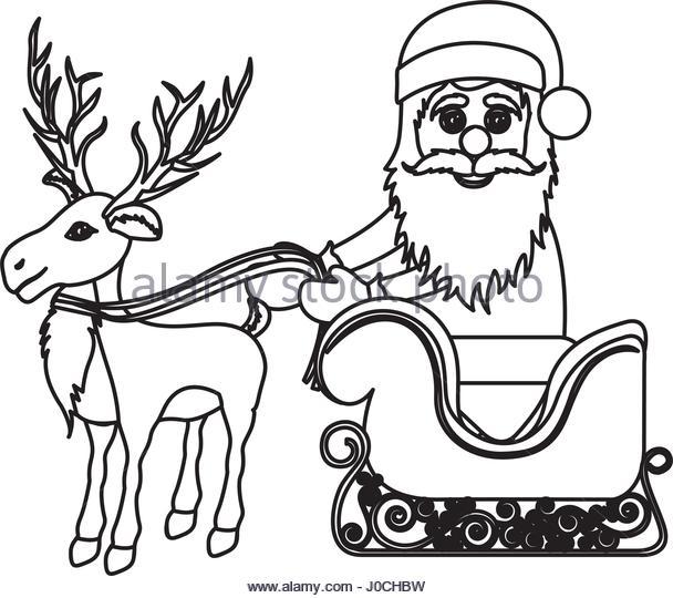 608x540 Santa Claus Sleigh Stock Photos Amp Santa Claus Sleigh Stock Images