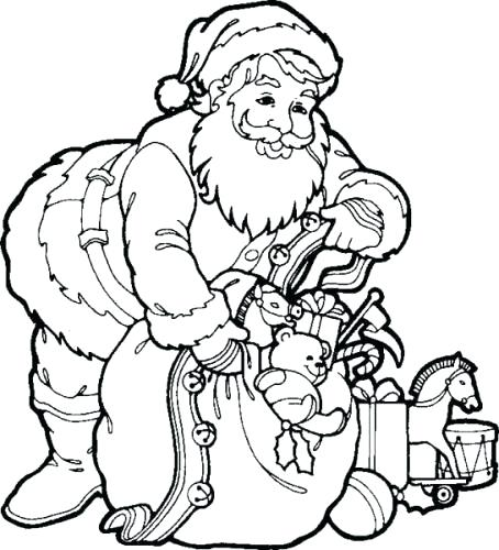 454x500 Sleigh Coloring Page Free Santa Sleigh Coloring Pages Synthesis.site
