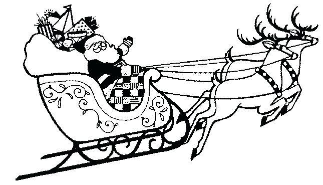 645x369 Santa And Sliegh S Sleigh With Santa Sleigh Britva.club