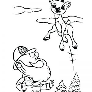 300x300 Santa Sleigh Coloring Pages Printable Fresh Santa On Sleigh