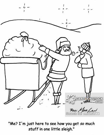 400x520 Santas Sleigh Cartoons And Comics