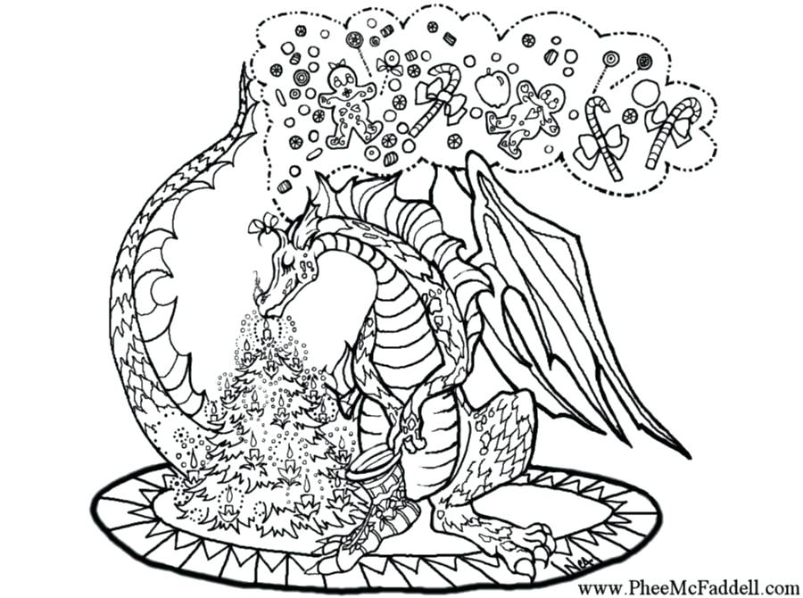 900x670 This Is Intricate Coloring Pages Pictures On Santas Sleigh