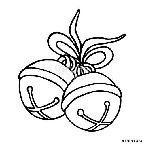 500x500 Jingle Bell Drawing Pictures To Pin