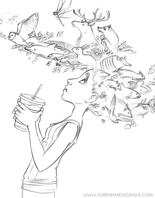 600x763 31 Best Sarah Mensinga Images On Drawings, Character