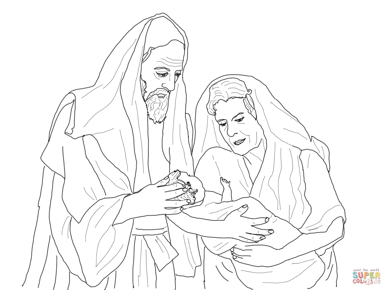 1600x1200 Abraham And Sarah Coloring Pages Preschool In Tiny Paint 2