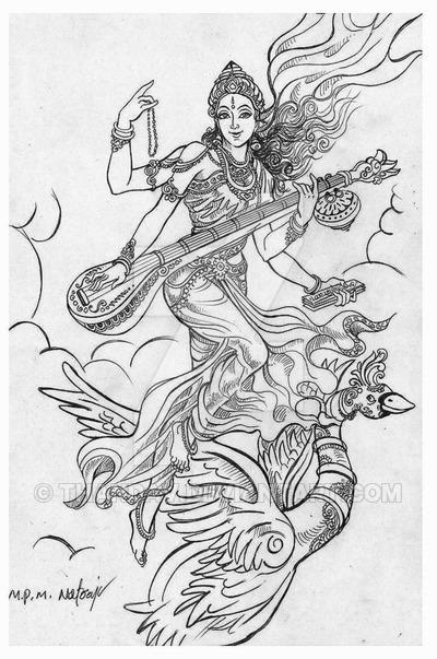 400x603 Saraswathi By Thandav