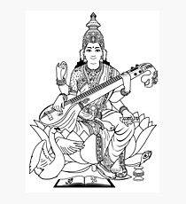 210x230 Saraswati Drawing Photographic Prints Redbubble