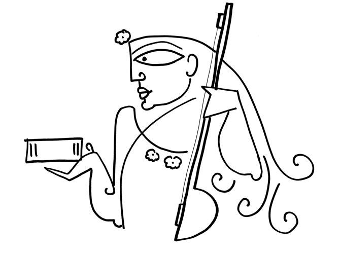 670x503 Devdutt Pattanaik Misunderstanding Saraswati